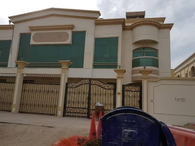 3 Bedroom Villa for Rent in Al Rawda, Ajman - LOOK NEW  VILLA 4 BEDROOMS 3 MASTER BEDROOMS HALL BEAUTIFUL SPACIOUS NEXT TO SHEIKH AMMAR ROAD