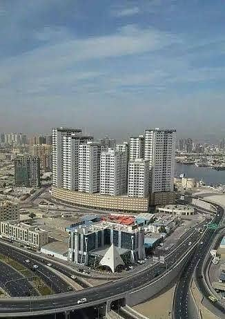 2 Bedroom Apartment for Rent in Ajman Downtown, Ajman - HUGE 2 BHK BEAUTIFUL GARDEN VIEW  IN  AJMAN PEARL  BEST FAMILY TOWER