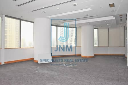 Office for Rent in Jumeirah Lake Towers (JLT), Dubai - Lowest price! Fully Fitted in Almas Tower