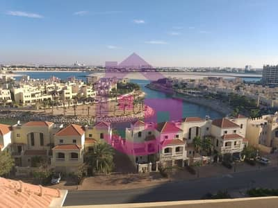 Studio for Rent in Al Hamra Village, Ras Al Khaimah - Stunning Lagoon View Studio in Royal Breeze- 12 cheques