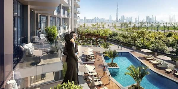 Studio for Sale in Bur Dubai, Dubai - Dear Fuad Residence Dubai Healthcare City