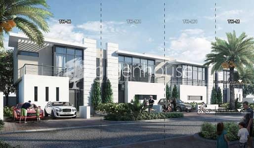 3 Bedroom Townhouse for Sale in DAMAC Hills (Akoya by DAMAC), Dubai - Corner Unit | Ready Soon | Pay 80% Post H/O