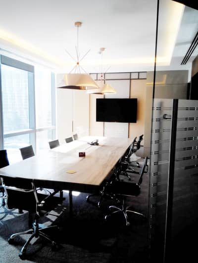 Office for Rent in Downtown Dubai, Dubai - Elegantly Fully Furnished Office in High-end Luxury Tower