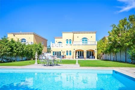 5 Bedroom Villa for Rent in Jumeirah Park, Dubai - District 2 | Spacious | Single Row Villa