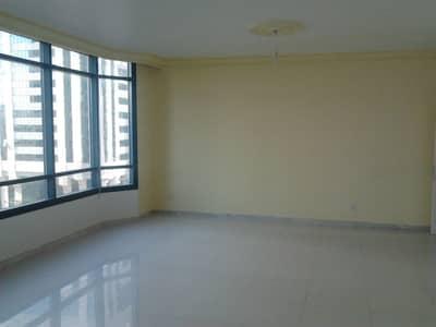 3 Bedroom Apartment for Rent in Al Khalidiyah, Abu Dhabi - Sea View 3Br flat with 2 master and maid at Khalidia
