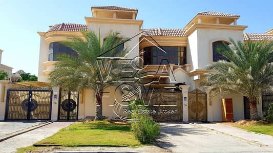 5 Bedroom Villa for Rent in Khalifa City A, Abu Dhabi - Euro Style 5 Master Bed with Private Entrance
