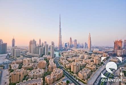 3 Bedroom Flat for Rent in Downtown Dubai, Dubai - Best Layout | Burj Khalifa View | Vacant