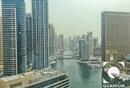 2 Bedroom Apartment for Rent in Dubai Marina, Dubai - High Floor | Marina Facing | Vacant Now