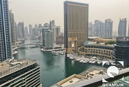 1 Bedroom Flat for Rent in Dubai Marina, Dubai - Marina View | High Floor | Available Dec