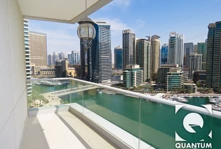 3 Bedroom Flat for Rent in Dubai Marina, Dubai - 3 BR | Marina View | Available November
