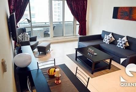1 Bedroom Apartment for Rent in Dubai Marina, Dubai - Vacant | High end Furniture | Marina View