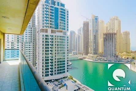 2 Bedroom Flat for Rent in Dubai Marina, Dubai - Upgraded Kitchen | Marina View |  Vacant