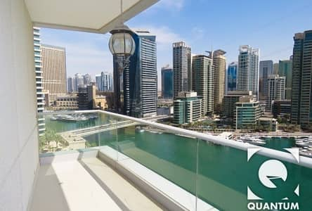 3 Bedroom Flat for Rent in Dubai Marina, Dubai - Full Marina View | Available 15th Dec / Furnished or Unfurnished