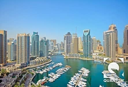 3 Bedroom Flat for Rent in Dubai Marina, Dubai - Furnished - Upgraded - Chiller Free
