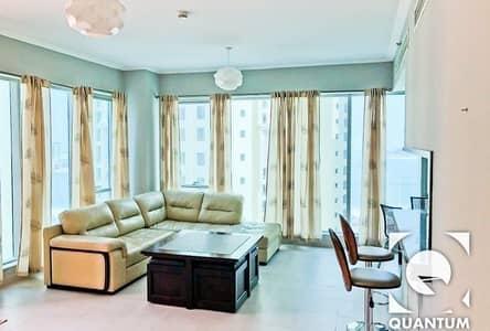 1 Bedroom Apartment for Rent in Dubai Marina, Dubai - EMAAR|Sea View|Stylish Furniture|Vacant