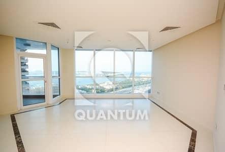 3 Bedroom Apartment for Rent in Dubai Marina, Dubai - Palm View | Mid Floor | AC Free | Vacant