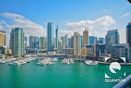 2 Bedroom Apartment for Rent in Dubai Marina, Dubai - Available 1st October | Full Marina View