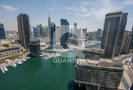 1 Bedroom Apartment for Rent in Dubai Marina, Dubai - Marina View | Larger Unit | On Mid Floor