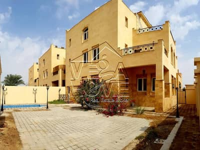 4 Bedroom Villa for Rent in Mohammed Bin Zayed City, Abu Dhabi - 4 M BED VILLA W/ PRIVATE POOL/ GARAGE /BACK YARD