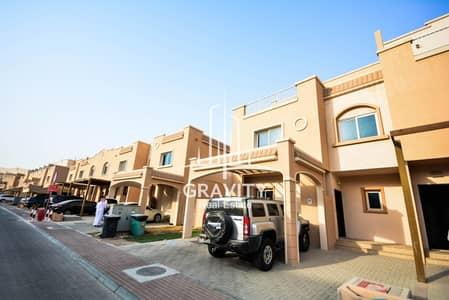 5 Bedroom Villa for Sale in Al Reef, Abu Dhabi - HOT DEAL I Corner 5BR villa w/ private pool