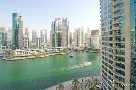 1 Bedroom Apartment for Rent in Dubai Marina, Dubai - Marina View | Best Layout | Fully Furnished