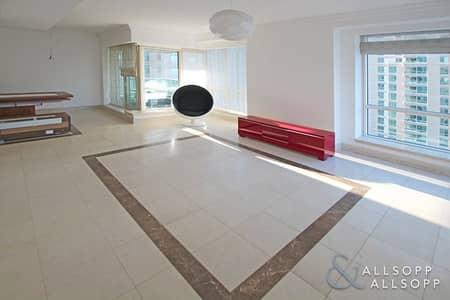 2 Bedroom Apartment for Rent in Dubai Marina, Dubai - Unfurnished   EMAAR 6   Partial Marina