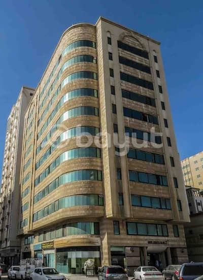 1 Bedroom Flat for Rent in Al Mareija, Sharjah - 1-BHK Apartment for Rent in Abu Jemeza Building 2