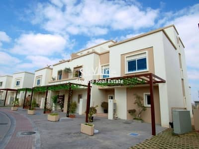 2 Bedroom Villa for Sale in Al Reef, Abu Dhabi - Affordable 2BR villa with garden area, covered parking