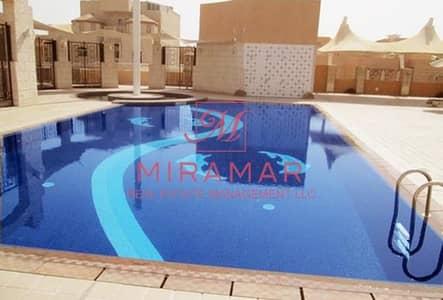 4 Bedroom Villa for Rent in Al Mushrif, Abu Dhabi - Corner Unit 4 Bed Resort Style Compound