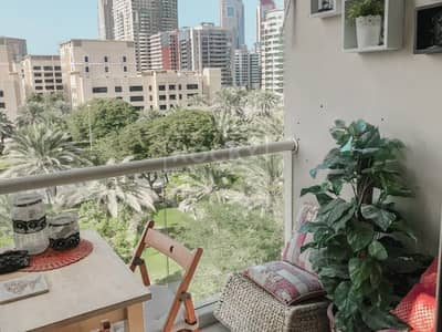 1 Bedroom Flat for Rent in The Greens, Dubai - Furnished Apartment plus Storage Multiple chqs in The Greens