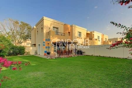 3 Bedroom Villa for Rent in Arabian Ranches, Dubai - Corner villa   Landscape Garden  Type 3E