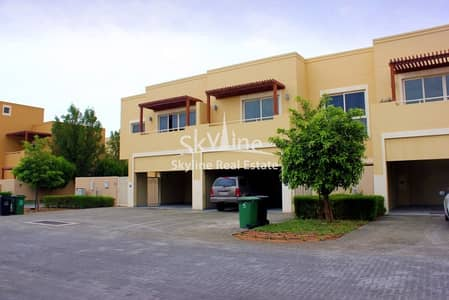 3 Bedroom Townhouse for Sale in Al Raha Gardens, Abu Dhabi - Great price! Luxury 3BR Townhouse Type S with maids room