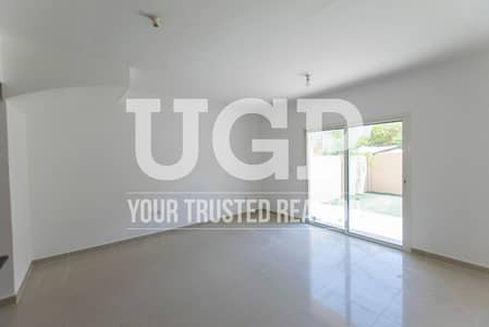 2 Bedroom Villa for Rent in Al Reef, Abu Dhabi - Double Row 2 BR with Garden - 2 Payments