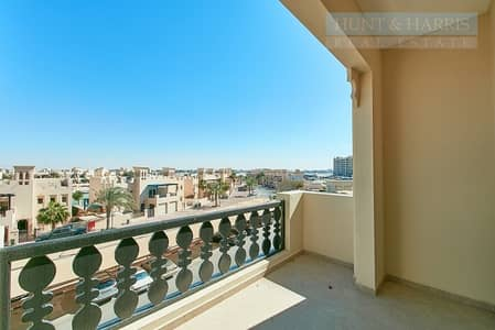 Studio for Rent in Al Hamra Village, Ras Al Khaimah - Lowest price studio - Community View - Offered Unfurnished