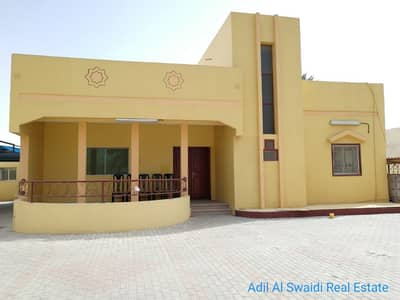 5 Bedroom Villa for Rent in Al Ghafia, Sharjah - 5 BHK Villa with majlis, living dining, maid room, store, covd parking, lawn in ghaphia area