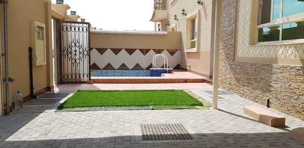 4 Bedroom Villa for Rent in Hoshi, Sharjah - For GCC Nationalities,Newly Developed Al Hoshi Shj B-New 4Bed Maid Villa For Rent With Private Pool