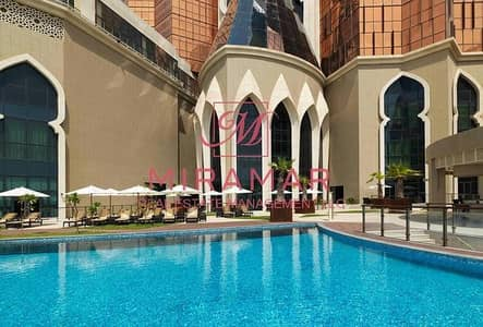Studio for Rent in Corniche Road, Abu Dhabi - FULLY FURNISHED AND SERVICED SEA VIEW!!