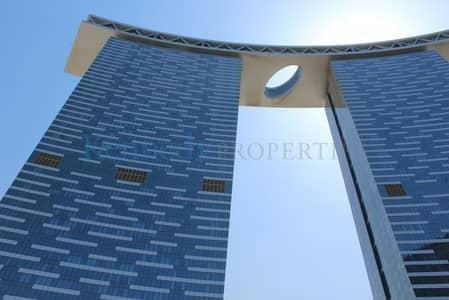 1 Bedroom Flat for Rent in Al Reem Island, Abu Dhabi - 1 bedroom in Gate tower  sea view