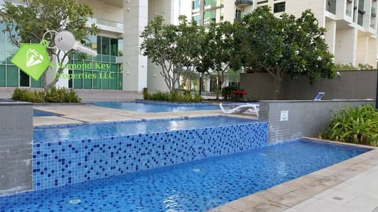 Studio for Rent in Al Reem Island, Abu Dhabi - Swimming Pool