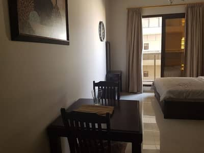 Studio for Rent in Dubai Sports City, Dubai - Very Affordable Fully Furnished Studio with Balcony in Elite 10, Residence in Dubai Sports City