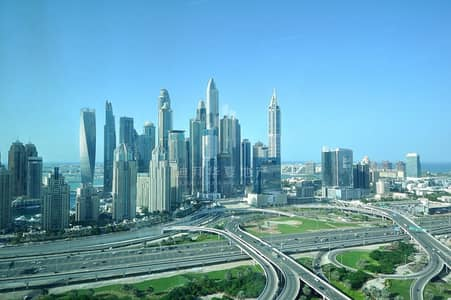 Office for Rent in Jumeirah Lake Towers (JLT), Dubai - Stunning View Spacious Fitted Vacant Office
