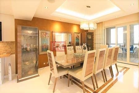 شقة 3 غرفة نوم للايجار في دبي فيستيفال سيتي، دبي - Must See|Burj Khalifa and Lake View|Fully Upgraded|