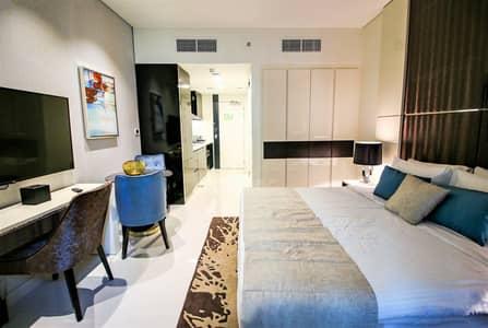 Studio for Rent in Business Bay, Dubai - Burj Khalifa | Lake View Cheapest Hotel Apt