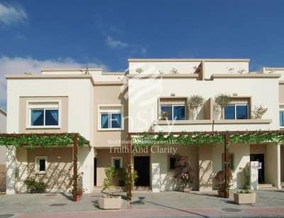 2 Bedroom Villa for Sale in Al Reef, Abu Dhabi - Single Row with beautiful Garden