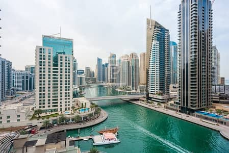 2 Bedroom Flat for Sale in Dubai Marina, Dubai - Marina View 2BR + maids with basement storage room