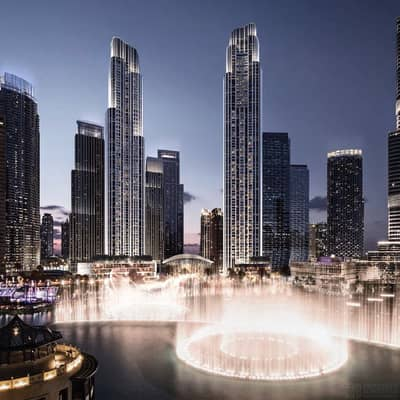 4 Bedroom Apartment for Sale in Downtown Dubai, Dubai - Full Burj View Luxury Apt with Payment Plan