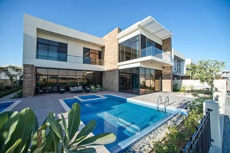 6 Bedroom Villa for Sale in DAMAC Hills (Akoya by DAMAC), Dubai - Own the cheapest and largest 6 bedroom villa in Dubai