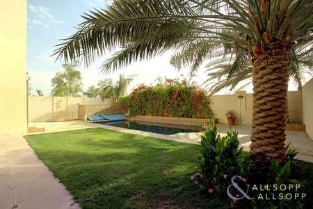 3 Bedroom Villa for Rent in Jumeirah Park, Dubai - Landscaped | Well Maintained | Single Row