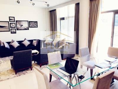 3 Bedroom Townhouse for Sale in DAMAC Hills (Akoya by DAMAC), Dubai - 20% DISCOUNT l READY TO MOVE IN l FULLY FURNISHED l GOLF VIEW l CORNER UNIT l DAMAC HILLS