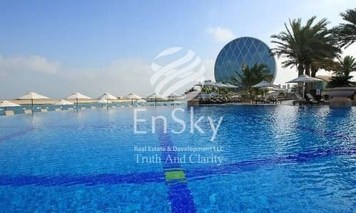 3 Bedroom Flat for Sale in Al Raha Beach, Abu Dhabi - Full Sea View Apartment With 2 Car Parkings!